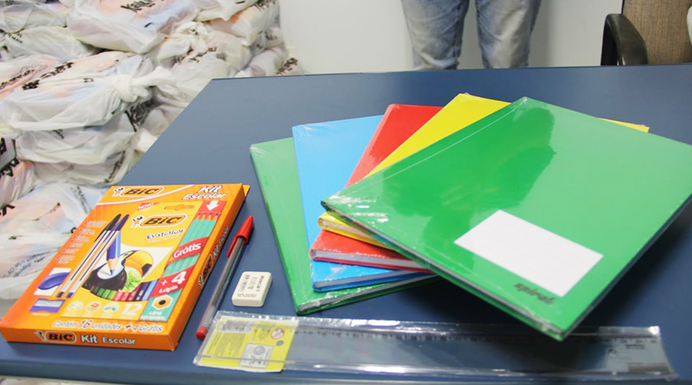 Inscrições para o Kit de Material Escolar 2020 iniciam dia 3 de outubro e vão até 20 de dezembro