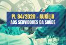 PL 84/2020 | Câmara aprova ampliação do auxílio à Saúde