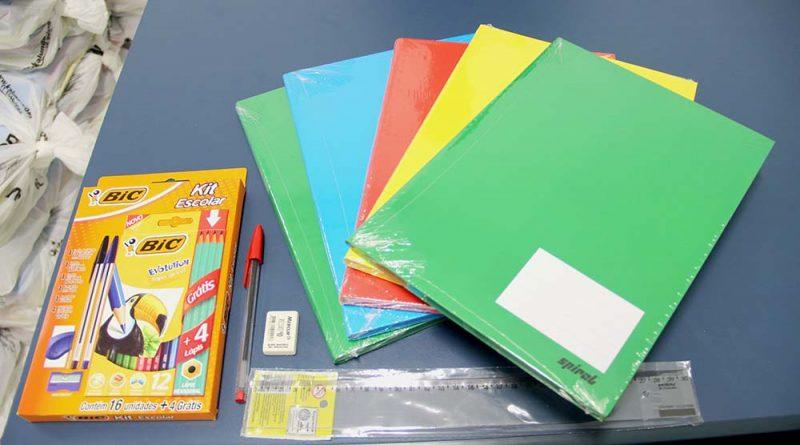 Kits de Material Escolar | Entregas começam dia 20 de janeiro na sede do SSPMA, das 8 às 17 horas