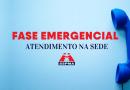 Fase Emergencial | SSPMA atenderá pessoalmente mediante agendamento