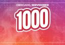 1K   SSPMA atinge MIL SEGUIDORES no Instagram. Nossa equipe agradece!